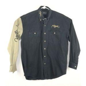 Roper Mens Button Up Size Medium Western Wear